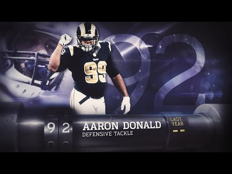 #92 Aaron Donald (DE, Rams) | Top 100 Players of 2015