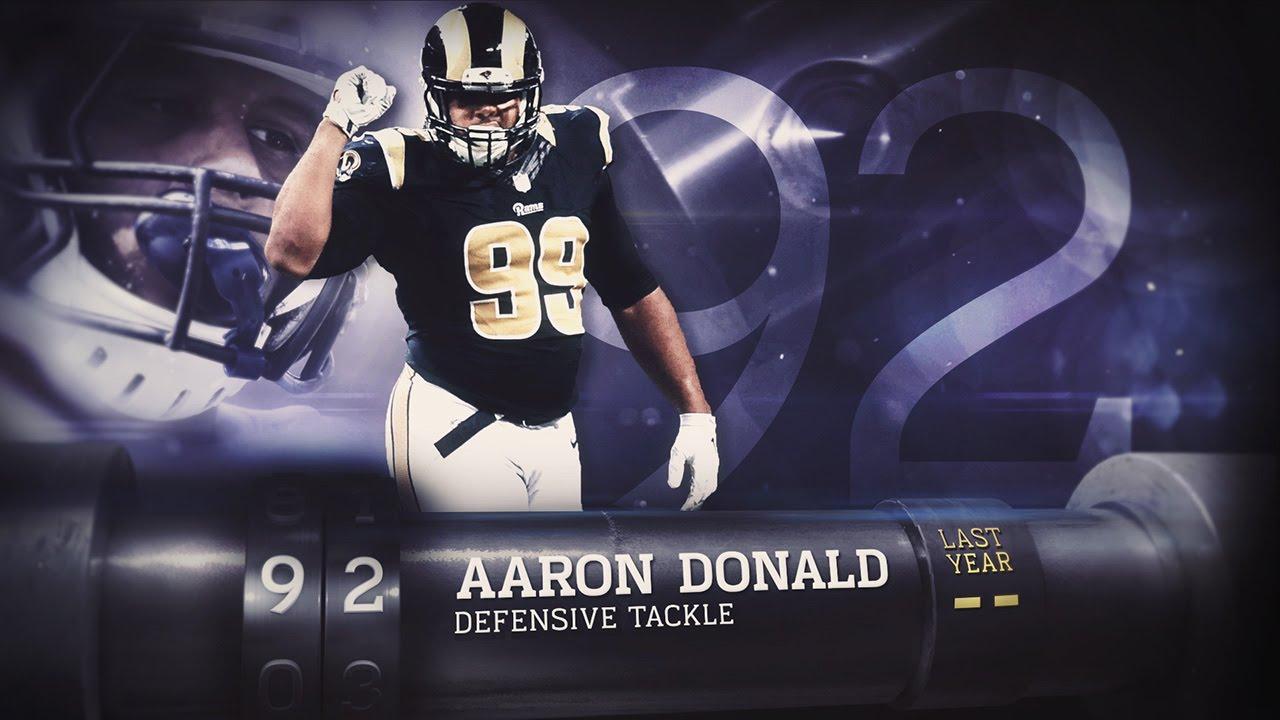92 Aaron Donald DE Rams