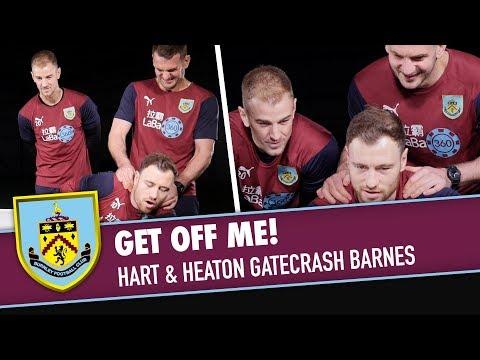 GET OFF ME! | Joe Hart & Tom Heaton Gatecrash Ashley Barnes