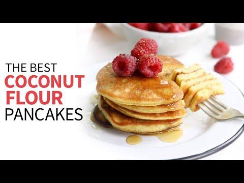 How to Make Coconut Flour Pancakes