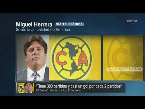 Miguel Herrera habla de la posible llegada de Luuk de Jong al Club America - Futbol Picante