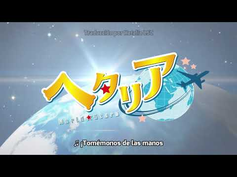Hetalia World★Stars   60 PV Tráiler   Sub Español