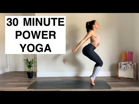 POWER Yoga For Upper Body Strength | 30 Minute Yoga Class