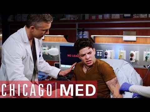 Gun Stuck In The Rear   Chicago Med