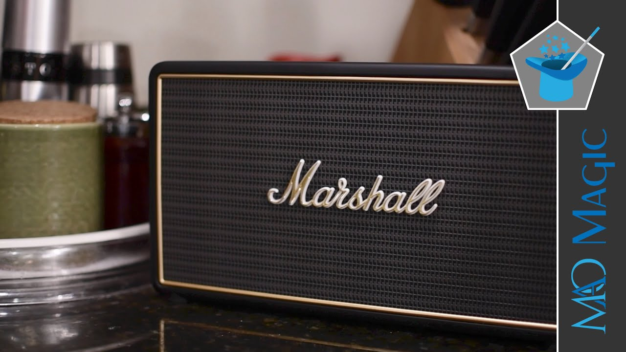 Marshall Stockwell Speaker is as Classy as it is Portable - YouTube 074b00e1cb8a3