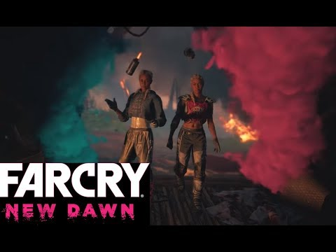 Far Cry New Dawn The Twins Ending Save Or Kill Mickey Youtube