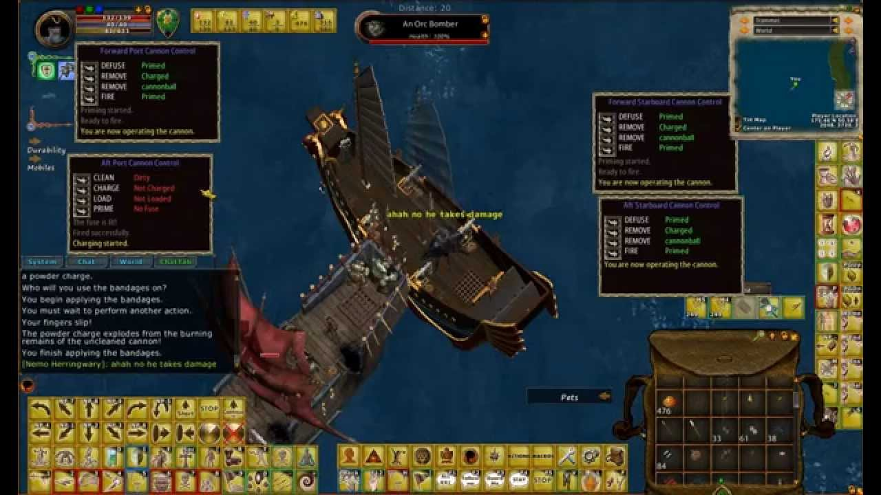 ultima online piracy guide youtube
