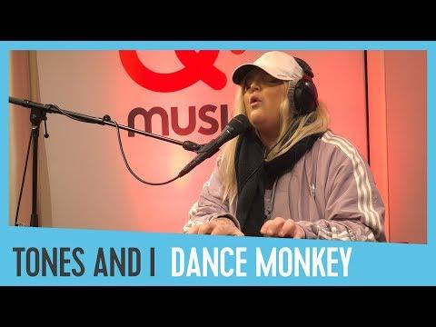 Tones And I - &39;Dance Monkey&39;  & akoestisch bij Domien  Q