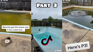 Satisfying Pool Cleaning TikTok Compilation Part 3