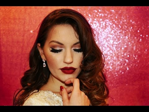 Old Hollywood Vintage Glam Makeup Tutorial