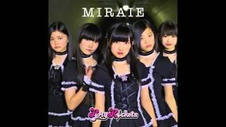 "2013/2/27 Release MIRAIE Words: Takayuki Yoshimizu Music: Eric Martin Eric Martin (Mr.Big) wrote the song to Japanese junior high school girl idol unit ""Party ..."
