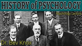 The Study of the History of Psychology