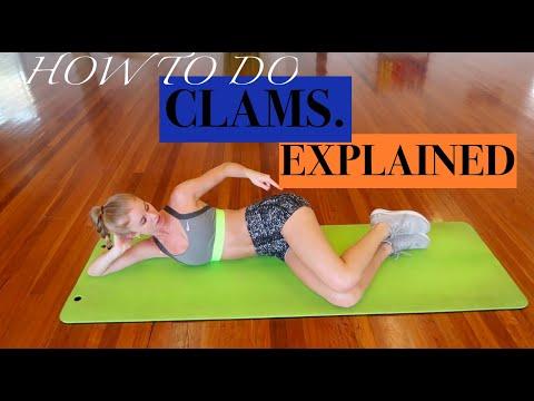 CLAM EXERCISE EXPLAINED / TrainLikeaBallerina