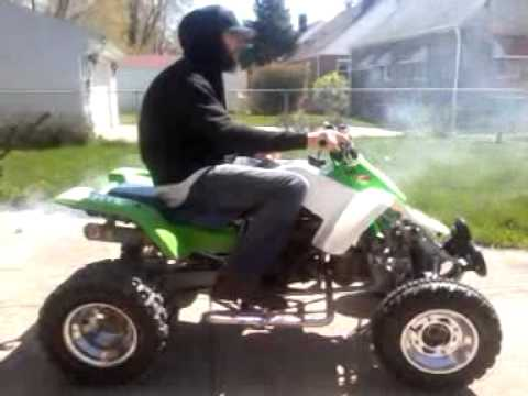 1988 Kawasaki Tecate 4 250 Fully Restored 4/4/12 - YouTube