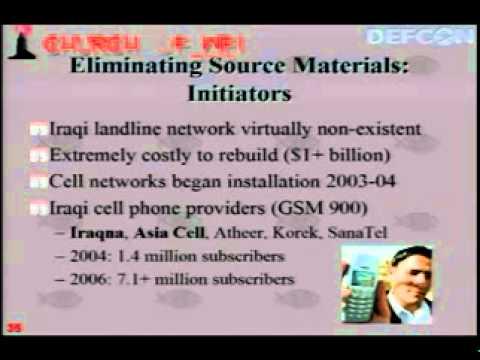 DefCon 15   T142   Hacking Iraq