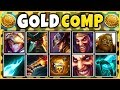 MONEY MAKING TEAM COMP 2019 (FASTEST LATE GAME EVER) THE RICHEST TEAM EVER - League of Legends