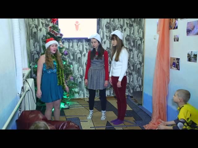 Новый год в Студии Мир Глазами Детей