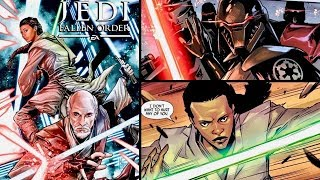 PREQUEL Comic to Star Wars Jedi: Fallen Order! - Dark Temple Issue #1 Full Recap and Review