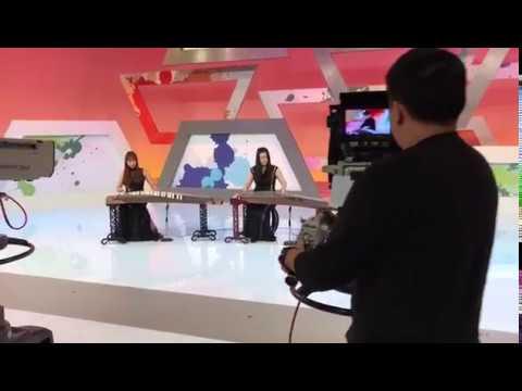 箏音樂 甜蜜蜜 古箏 TVB文化廣場 (現埸版) - YouTube