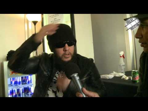 Joey Jordison, Scar The Martyr. Interviewed by Kriss Panic.