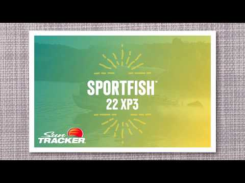 Sun Tracker SportFish 22 XP3 video