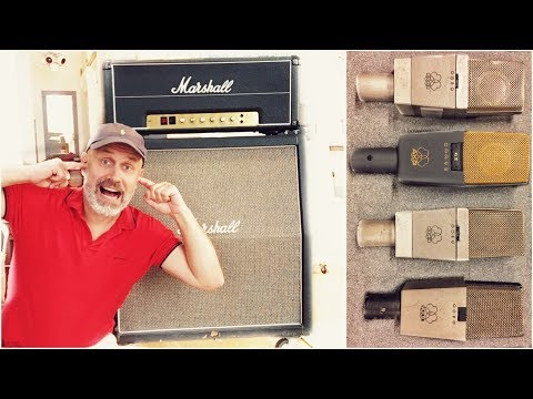 Even up close your cranked Marshall Stack...