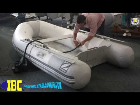 Zodiac 285 Fastroller Acti-V Assembly Inflatable Boat Center