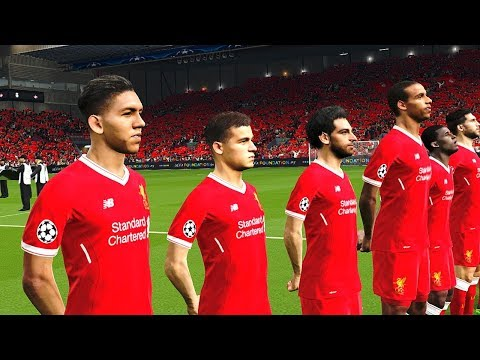 Liverpool vs Spartak Moscow | UEFA Champions League 2017/18 Gameplay