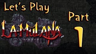 Lets Play (PL) La Mulana part 1 - Lemeza Jones