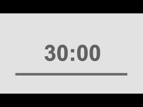 30 minute countdown timer with signal  /  half hour