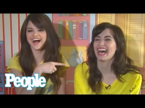 Selena Gomez & Demi Lovato Take the BFF Test I People