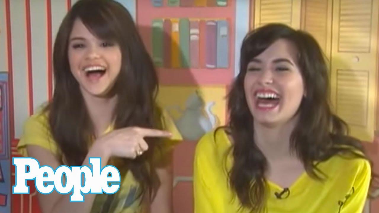 Selena Gomez & Demi Lovato Take the BFF Test I People