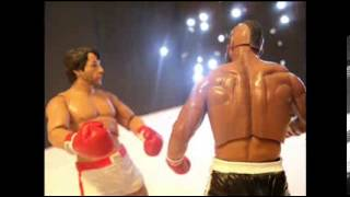 Stop Motion Rocky Balboa VS Clubber Lang