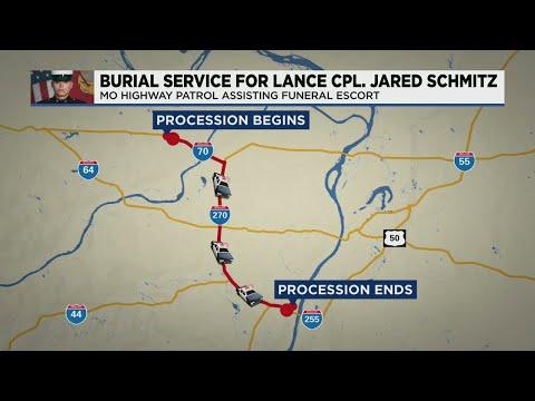 Interstates-to-close-Thursday-for-Lance-Cpl.-Schmitz-procession-to-Jefferson-Barracks