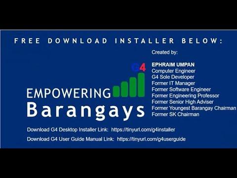 Barangay System- How to set up Barangay Genesis 2 3