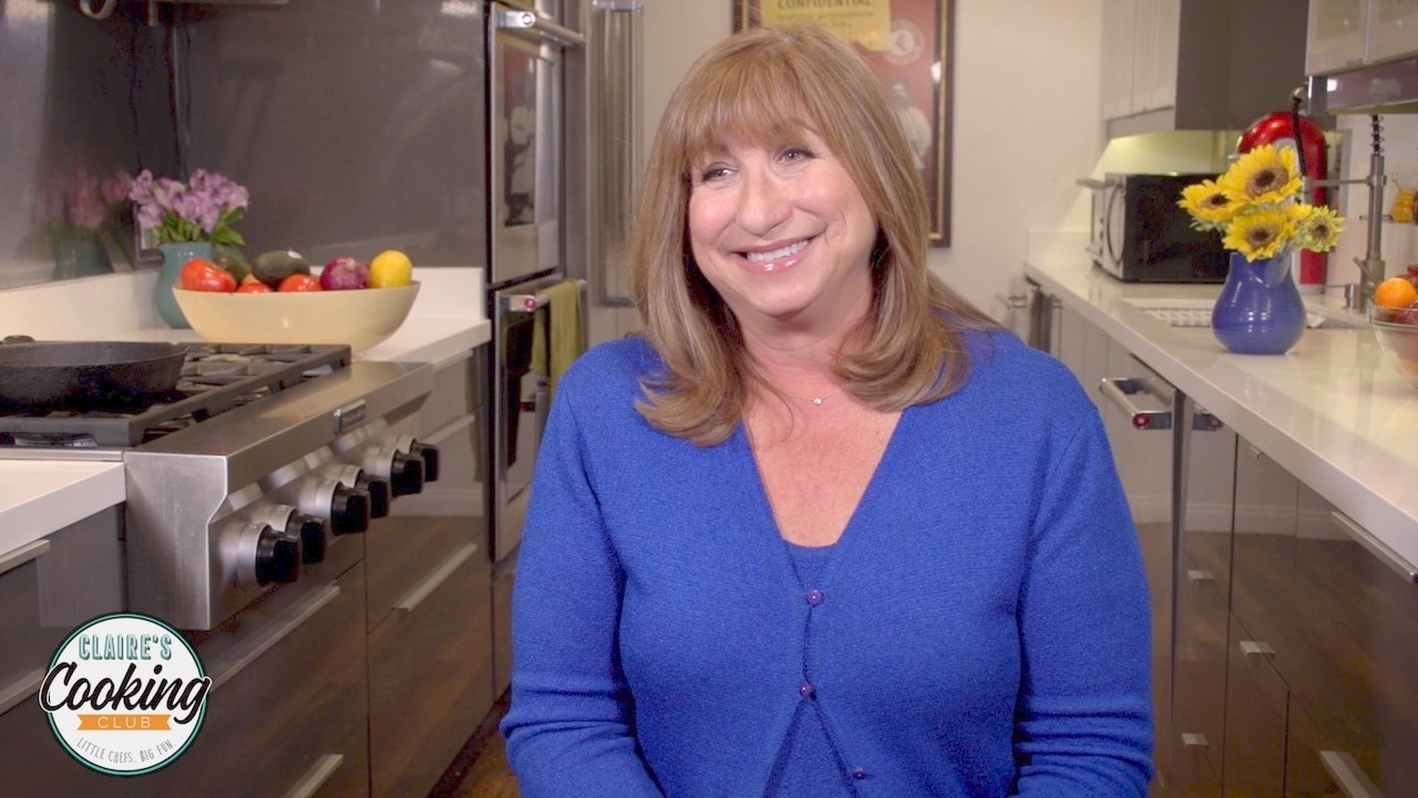 Meet Claire Berger: Claire's Cooking Club - YouTube