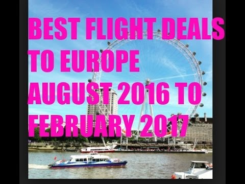 BEST TRAVEL DEALS TO EUROPE - TRAVEL - DEALS
