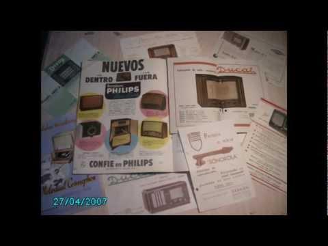 COLECCIONISTA DE RADIOS ANTIGUAS - VICENTE JOSE FELIP - FOTOS LIBROS+REVISTAS+ETC - 9 DE 9