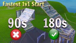 The Best 1v1 Starts in Fortnite... (New Tricks)