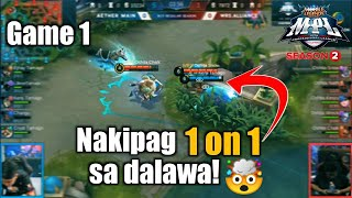 Game1 Aether Main VS White Rascals Makapuntos na kaya? | MPL-PH S2 Week6 Day1
