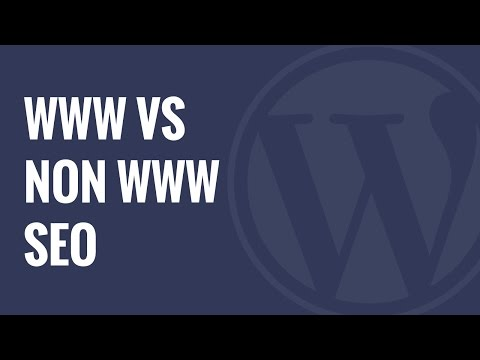 WWW vs non WWW and Which is Better For WordPress SEO - 동영상
