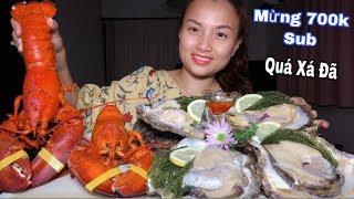 🇯🇵Tôm Hùm Hấp Nước Dừa,Hào Đá Tái Chanh & Rong Nho -Mềm Tan Thơm Béo Giòn Ngọt Ngất Ngây #308