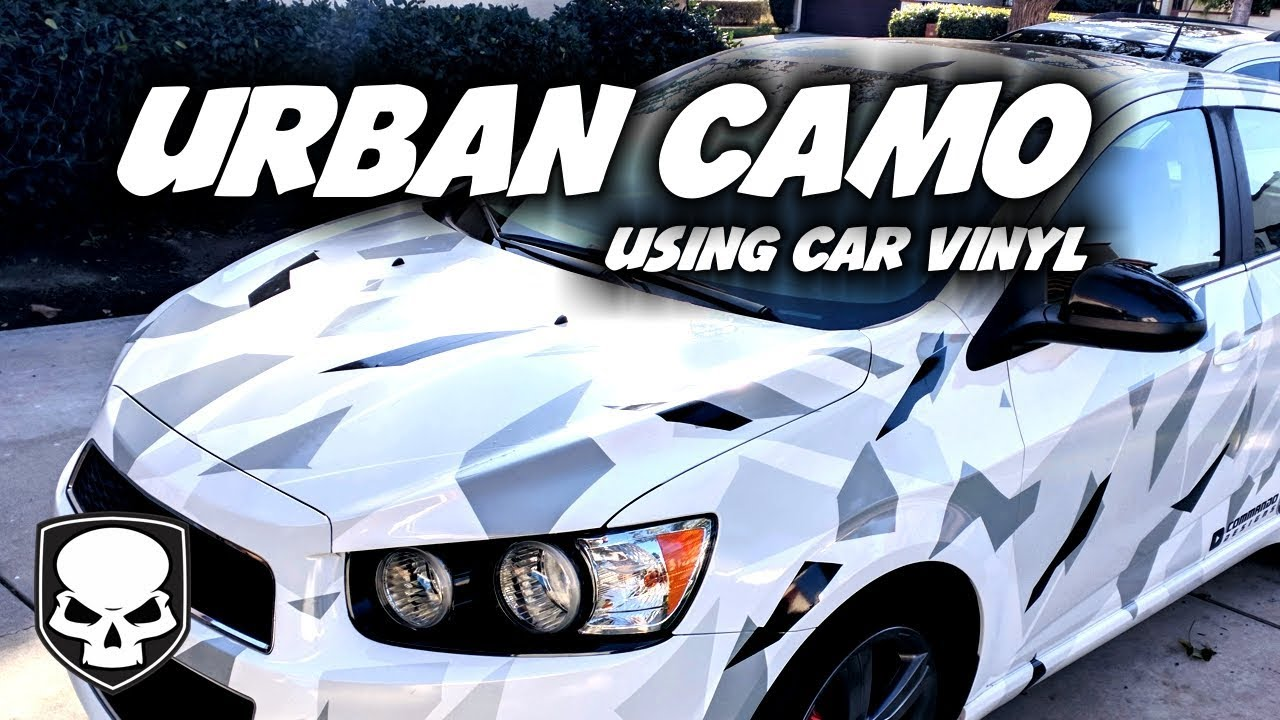 Urban Camo Easy Car Vinyl Trick Youtube