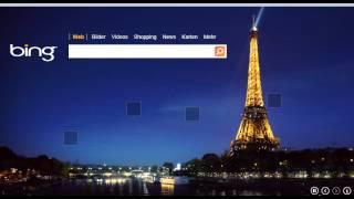 Bing Video Wallpaper Eiffel Tower