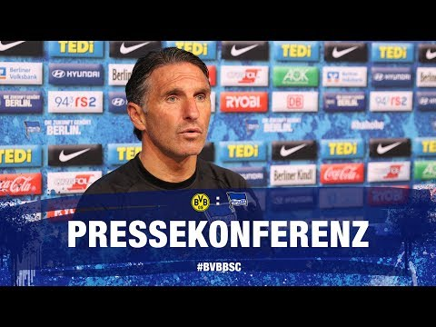 PK vor Borussia Dortmund l Bundesliga l 30. Spieltag l Hertha BSC
