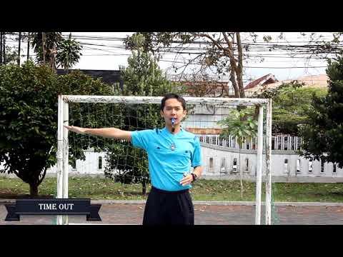 Perwasitan Futsal ( time out )