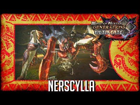 Monster Hunter Generations Ultimate: Nerscylla thumbnail