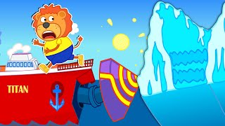 Download Lion Family Official Channel Titanic Sails Through Iceberg | Cartoon for Kids Mp3 and Videos