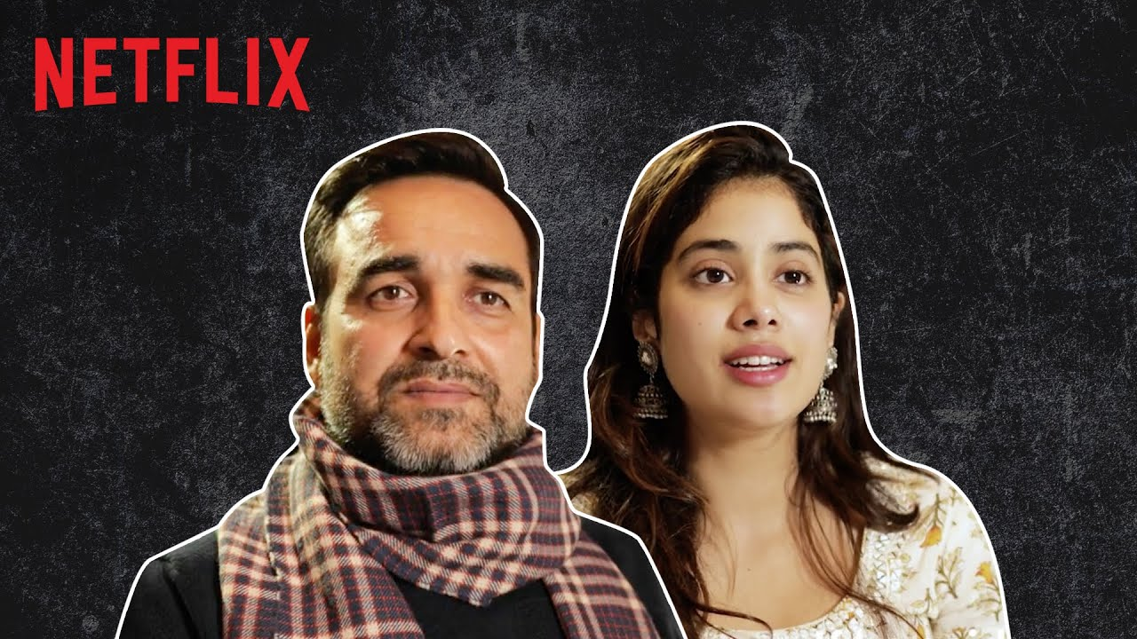 Pankaj Tripathi & Janhvi Kapoor: The Best Father-Daughter Duo | Gunjan Saxena | Netflix India