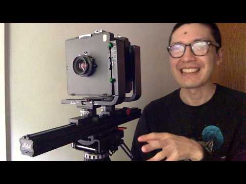 Monorail large format cameras are cheap and great for beginners! - Linhof Kardan LT